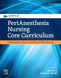 Cover image for PeriAnesthesia Nursing Core Curriculum