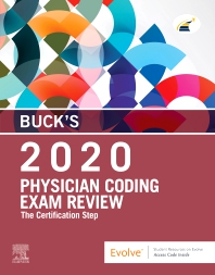 Cover image for Buck's Physician Coding Exam Review 2020