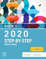 Cover image for Buck's Step-by-Step Medical Coding, 2020 Edition