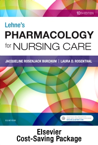Cover image for Lehne's Pharmacology for Nursing Care - Text and Pharmacology Online package