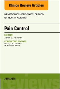 Cover image for Pain Control, An Issue of Hematology/Oncology Clinics of North America