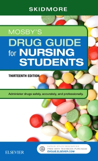 cover of Mosby's Drug Guide for Nursing Students - 13th Edition