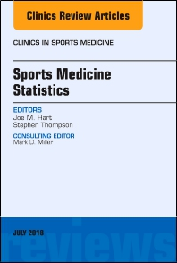 Cover image for Sports Medicine Statistics, An Issue of Clinics in Sports Medicine