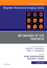 Cover image for MR Imaging of the Pancreas, An Issue of Magnetic Resonance Imaging Clinics of North America
