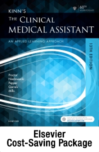 Cover image for Kinn's The Clinical Medical Assistant - Text, Study Guide, and SCMO: Learning the Medical Workflow 2018 Edition Package