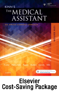 Cover image for Kinn's The Medical Assistant - Text, Study Guide and Procedure Checklist Manual, and SimChart for the Medical Office 2018 Edition Package