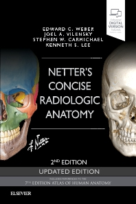 Cover image for Netter's Concise Radiologic Anatomy Updated Edition