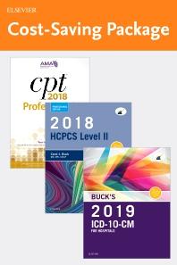 2019 ICD-10-CM Hospital Edition, 2018 HCPCS Professional Edition and AMA 2018 CPT Professional Edition Package - 1st Edition - ISBN: 9780323636841