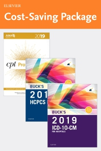 2019 ICD-10-CM Hospital Edition, 2019 HCPCS Professional Edition and AMA 2019 CPT Professional Edition Package - 1st Edition - ISBN: 9780323638395