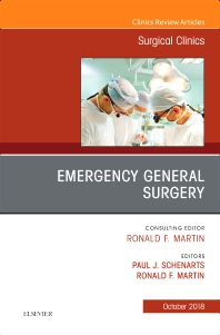 Cover image for Emergency General Surgery, An Issue of Surgical Clinics