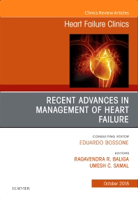 Cover image for Recent Advances in Management of Heart Failure, An Issue of Heart Failure Clinics