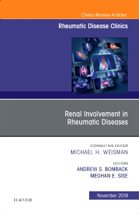 Cover image for Renal Involvement in Rheumatic Diseases , An Issue of Rheumatic Disease Clinics of North America