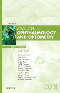 Cover image for Advances in Ophthalmology and Optometry, 2018