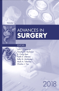 Cover image for Advances in Surgery, 2018