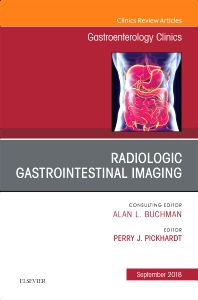 Cover image for Gastrointestinal Imaging, An Issue of Gastroenterology Clinics of North America