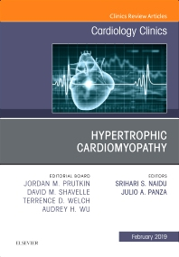 Cover image for Hypertrophic Cardiomyopathy, An Issue of Cardiology Clinics