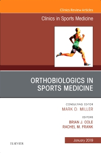 Cover image for OrthoBiologics in Sports Medicine, An Issue of Clinics in Sports Medicine