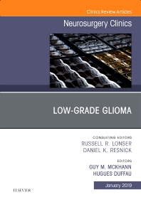 Cover image for Low-Grade Glioma, An Issue of Neurosurgery Clinics of North America