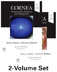Cover image for Cornea, 2-Volume Set