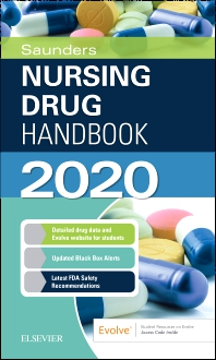 Cover image for Saunders Nursing Drug Handbook 2020