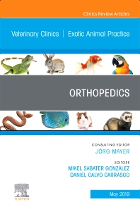 Cover image for Orthopedics, An Issue of Veterinary Clinics of North America: Exotic Animal Practice