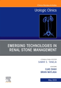 Cover image for Emerging Technologies in Renal Stone Management, An Issue of Urologic Clinics