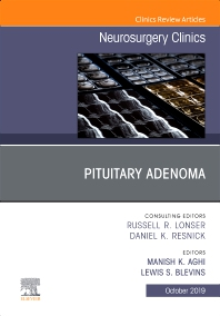 Cover image for Pituitary Adenoma, An Issue of Neurosurgery Clinics of North America