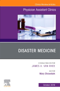 Cover image for Disaster Medicine ,An Issue of Physician Assistant Clinics
