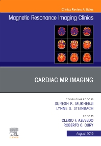 Cover image for Cardiac MR Imaging, An Issue of Magnetic Resonance Imaging Clinics of North America