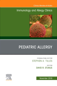 Cover image for Pediatric Allergy,An Issue of Immunology and Allergy Clinics