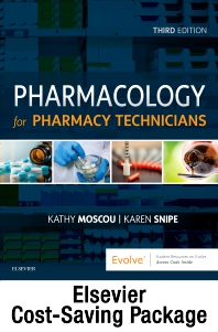 Cover image for Pharmacology for Pharmacy Technicians - Text and Workbook Package