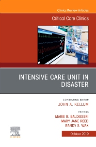 Cover image for Intensive Care Unit in Disaster,An Issue of Critical Care Clinics