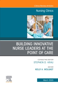 Cover image for Building Innovative Nurse Leaders at the Point of Care,An Issue of Nursing Clinics
