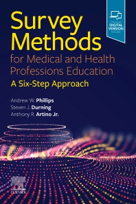 Cover image for Survey Methods for Medical and Health Professions Education