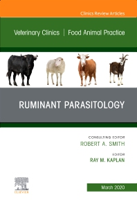 Cover image for Ruminant Parasitology,An Issue of Veterinary Clinics of North America: Food Animal Practice