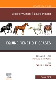 Cover image for Equine Genetic Diseases, An Issue of Veterinary Clinics of North America: Equine Practice
