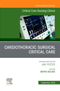 Cover image for Cardiothoracic Surgical Critical Care, An Issue of Critical Care Nursing Clinics of North America