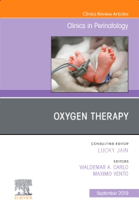Cover image for Oxygen Therapy, An Issue of Clinics in Perinatology
