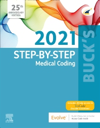 Cover image for Buck's Step-by-Step Medical Coding, 2021 Edition