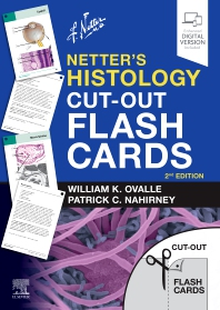 Cover image for Netter's Histology Cut-Out Flash Cards