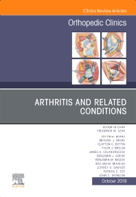 Cover image for Arthritis and Related Conditions, An Issue of Orthopedic Clinics