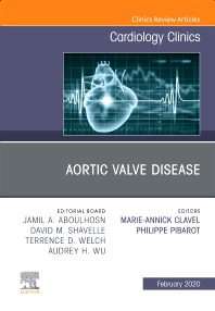 Cover image for Aortic Valve Disease,An Issue of Cardiology Clinics