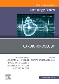 Cover image for Cardio-Oncology, An Issue of Cardiology Clinics