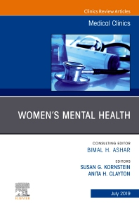 Cover image for Women's Mental Health, An Issue of Medical Clinics of North America, An Issue of Medical Clinics of North America