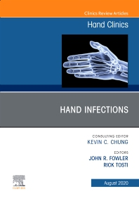 Cover image for Hand Infections, An Issue of Hand Clinics