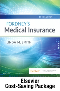 Cover image for Fordney's Medical Insurance pkg – TXT, WB, SCMO19