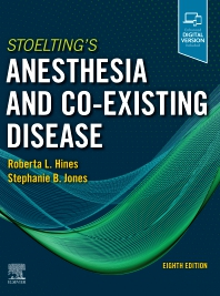 Cover image for Stoelting's Anesthesia and Co-Existing Disease