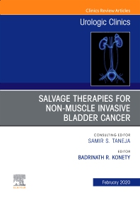 Cover image for Urologic An issue of Salvage therapies for Non-Muscle Invasive Bladder Cancer