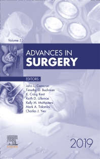 Cover image for Advances in Surgery, 2019