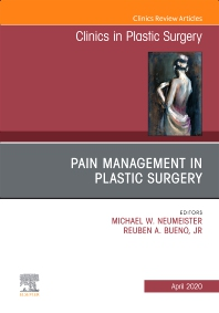 Cover image for Pain Management in Plastic Surgery An Issue of Clinics in Plastic Surgery